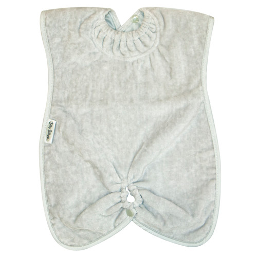 Silver Towel Highchair Hugger Bib