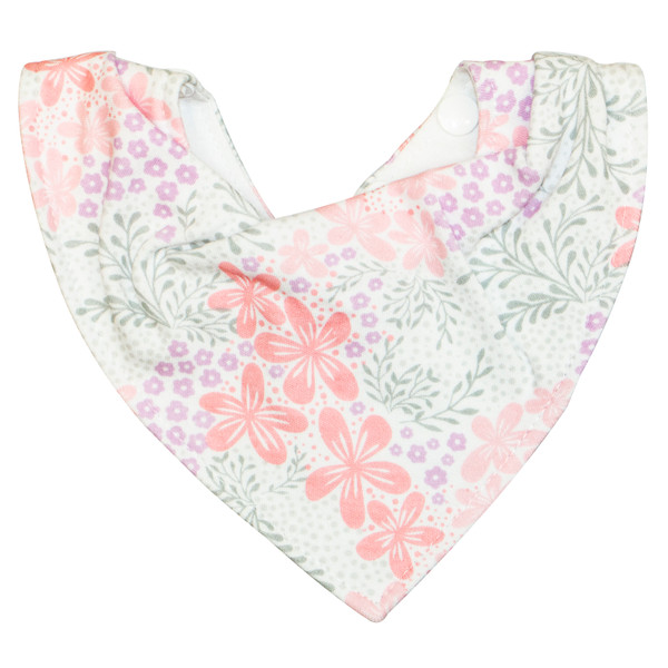 The ideal bib for teething or dribbly babies as the waterproof membrane keeps skin dry and the jersey cotton outer is beautifully soft on baby's delicate skin.