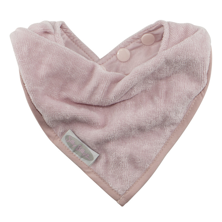 Made with super soft velour towelling, these functional and fabulous bandana bibs have a waterproof backing to keep your little one clean and dry from dribbles and spills.