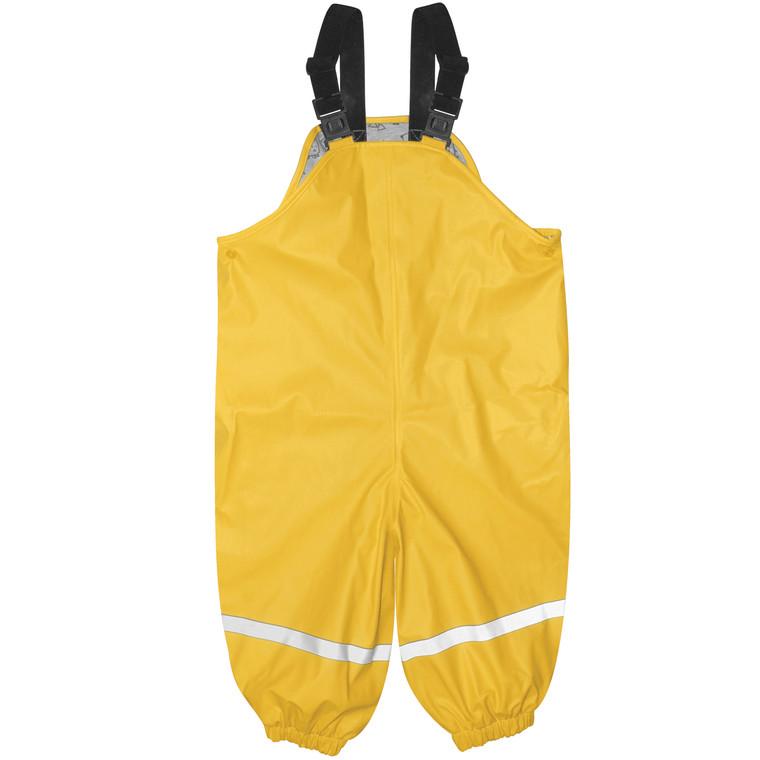 Yellow Waterproof Overalls