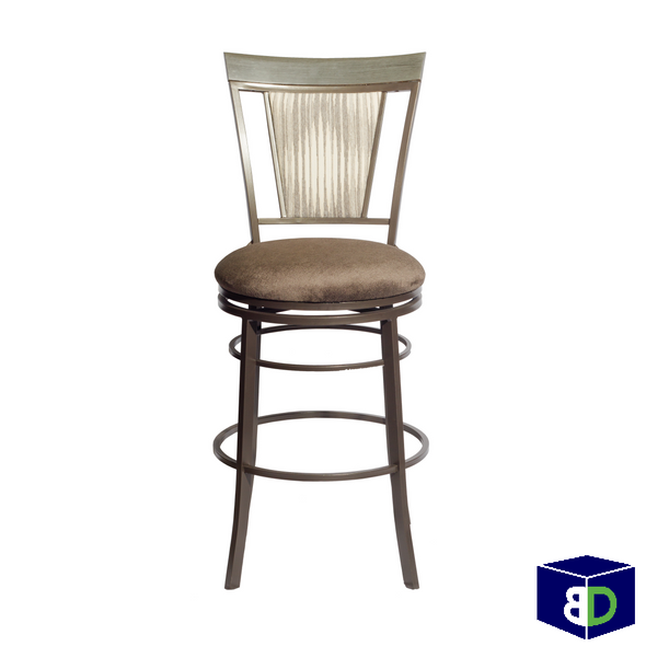 Bailey Swivel Bar Chair