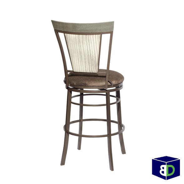 Bailey Swivel Bar Chair