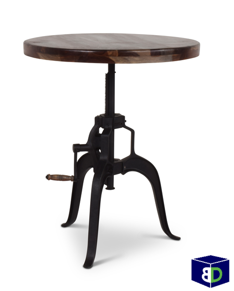 Ranch Round Crank Pub Table