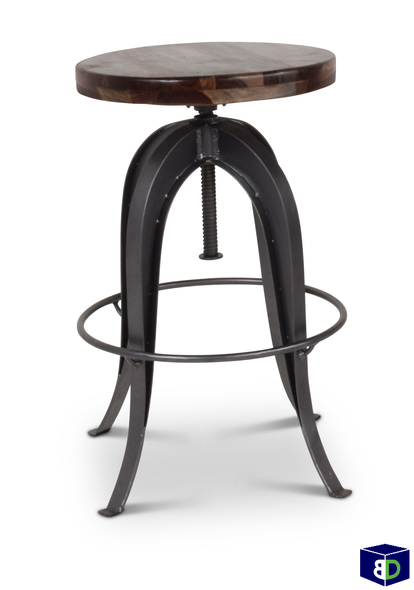 Ranch Round Bar Stool