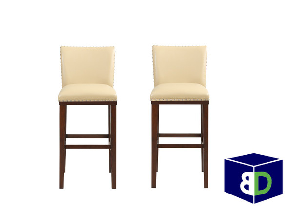 Avanca Toffee KD Bar Stool, set of 2