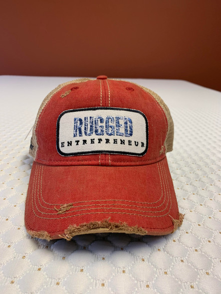 Rugged Entrepreneur Hat - Red