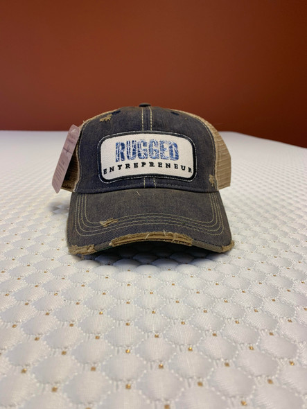 Rugged Entrepreneur Hat - Navy