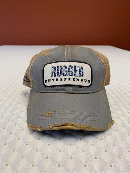 Rugged Entrepreneur Hat - Sky