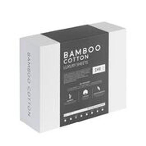 White - Luxury Bamboo Cotton Sheets