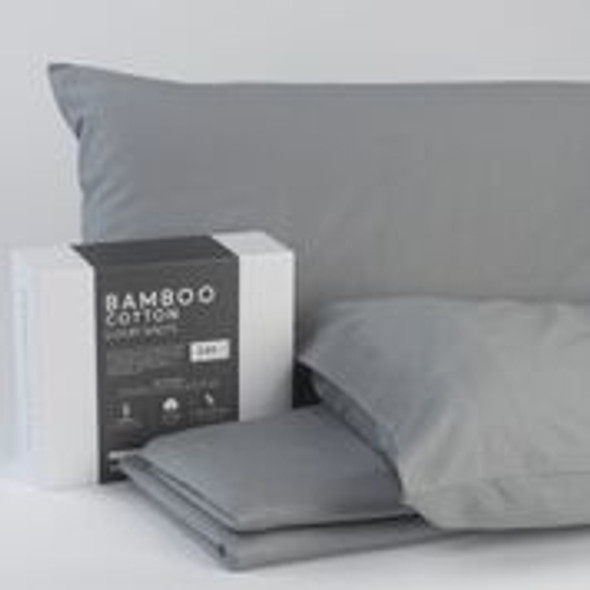 White - Luxury Bamboo Cotton Sheets