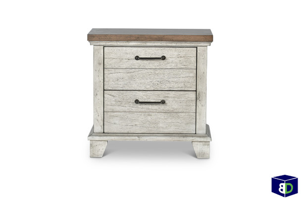 Creek View Two Drawer Nightstand