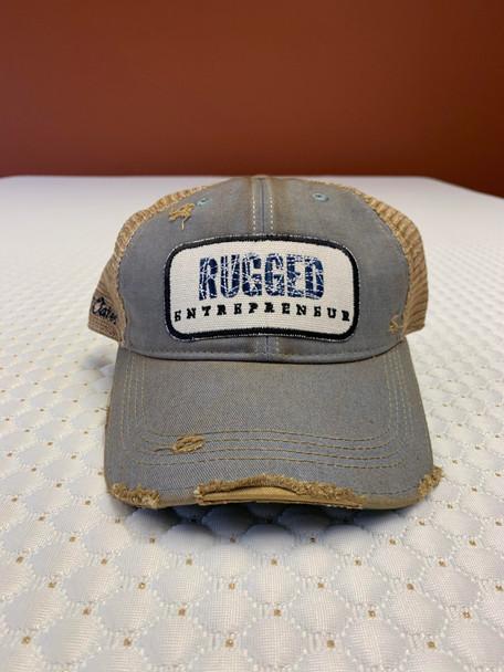 Rugged Entrepreneur Hat - Sky