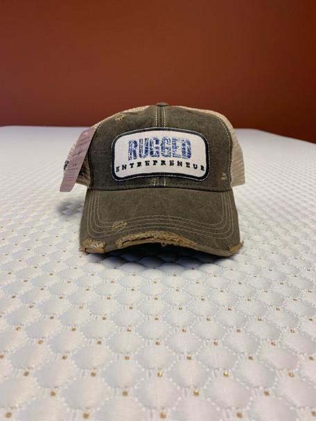 Rugged Entrepreneur Hat - Black