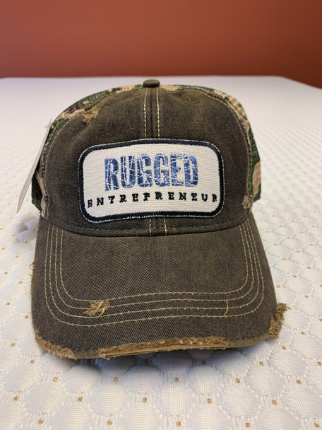 Rugged Entrepreneur Hat - Black Camo