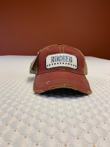 Rugged Entrepreneur Hat - Cardinal