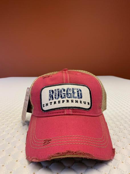 Rugged Entrepreneur Hat - Pink