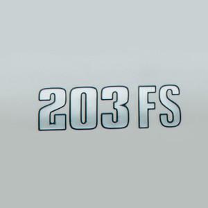 203 FS Decal