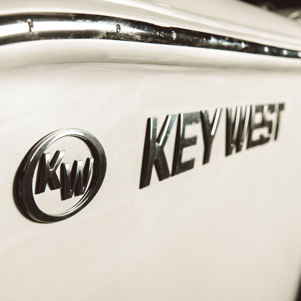 Key West Decal - raised chrome