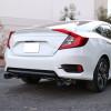 2016-2021 Honda Civic Sedan 1.5L Turbo Stainless Steel Catback Exhaust System (Burnt Tip)