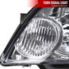 2006-2015 Chevrolet Impala/Monte Carlo Factory Style Crystal Headlights (Chrome Housing/Clear Lens)