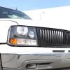 1999-2002 Chevrolet Silverado 1500 2500/ 2000-2006 Tahoe Suburban 1PC Factory Style Headlights w/ Bumper Lights (Matte Black Housing/Clear Lens)