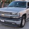 1999-2002 Chevrolet Silverado/ 2000-2006 Tahoe Suburban Dual Halo Projector Headlights w/ Bumper Lights (Chrome Housing/Clear Lens)