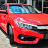 2016-2017 Honda Civic Coupe/Sedan H11 Fog Lights Kit (Chrome Housing/Clear Lens)