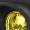 2016-2018 Honda Civic Coupe/Sedan H8 Fog Lights Kit (Chrome Housing/Yellow Lens)