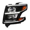 2015-2020 Chevrolet Tahoe Suburban/ 2016-2019 Suburban 3500HD LED Light Strip Projector Headlight - Driver Side Only (Matte Black Housing/Clear Lens)