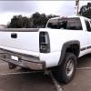 1999-2002 Chevrolet Silverado/ 1999-2003 GMC Sierra LED Tail Lights - G2 (Matte Black Housing/Clear Lens)