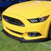 2015-2020 Ford Mustang Matte Black Polypropylene 3PC Bumper Lip