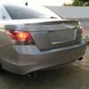 2008-2012 Honda Accord Sedan Unpainted ABS OE Style Rear Trunk Spoiler