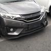 2014-2017 Honda Fit Matte Black 3PC Style Front Bumper Lip