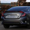 2016-2020 Honda Civic Sedan LED Tail Lights w/ Sequential Turn Signal Lights (Glossy Black Housing/Smoke Lens)