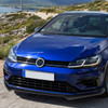 2014-2020 Volkswagen Golf GTI/R/R-Line Polypropylene 3PC Front Bumper Lip (Matte Black)