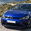 2014-2020 Volkswagen Golf GTI/R/R-Line Polypropylene 3PC Front Bumper Lip (Glossy Black)