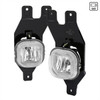 1999-2004 Ford F-250/F-350/Excursion H10 Fog Lights w/ Switch & Wiring Harness (Chrome Housing/Clear Lens)