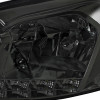 2006-2015 Chevrolet Impala/Monte Carlo Factory Style Crystal Headlights w/ SMD LED Light Strip (Chrome Housing/Smoke Lens)
