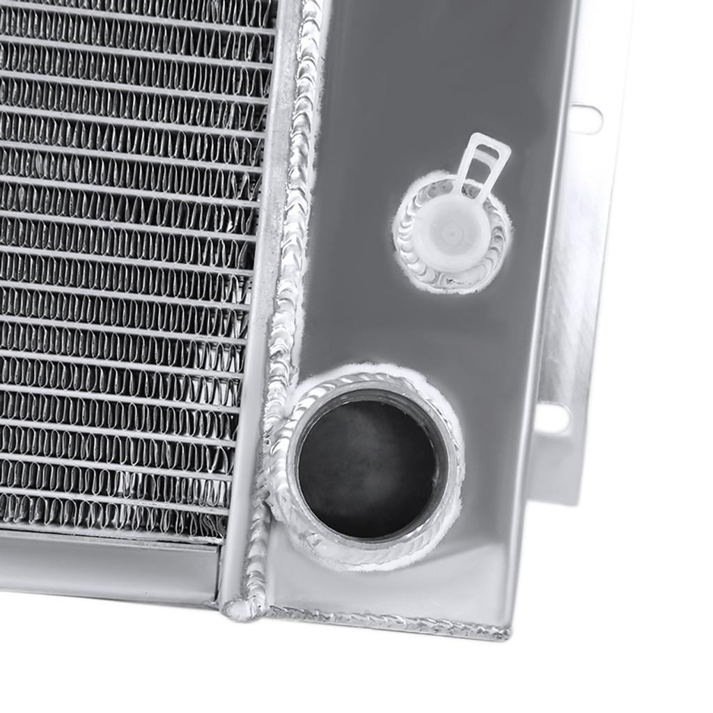 1967-1969 Chevrolet Pontiac Camaro Firebird V8 MT Aluminum 3-Row Performance Cooling Radiator