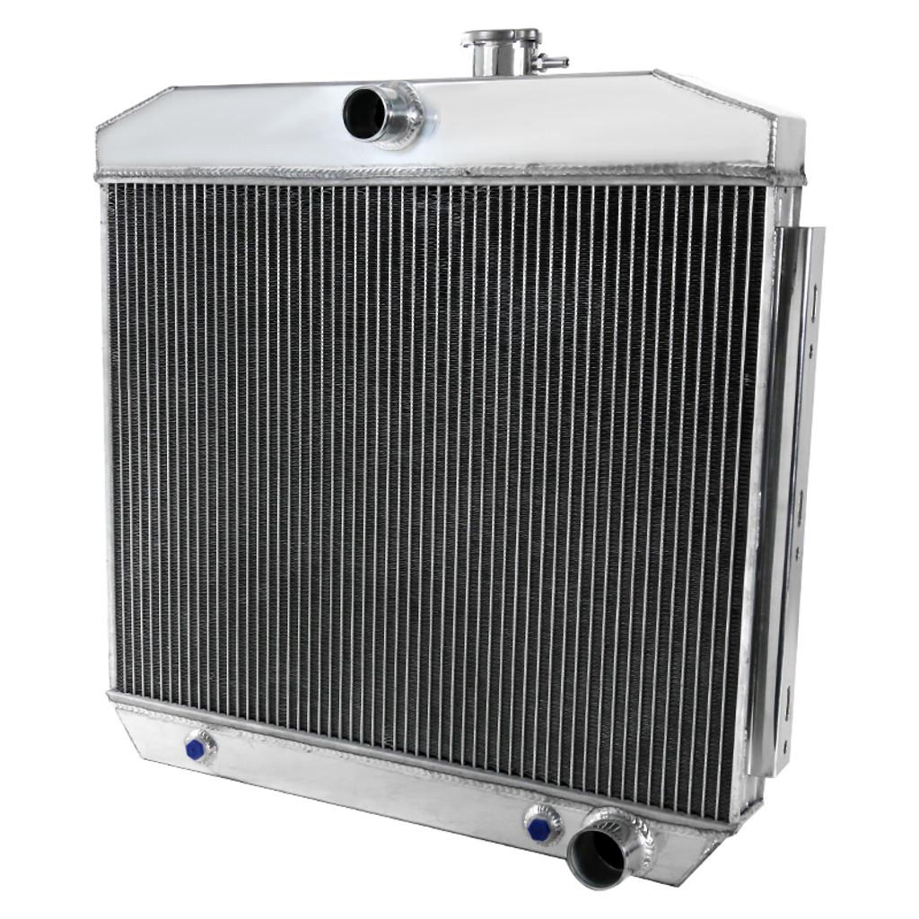 1955-1957 ChevroletBel Air/Nomad/150/210/Del Ray V8 MT Aluminum 3-Row Performance Cooling Radiator