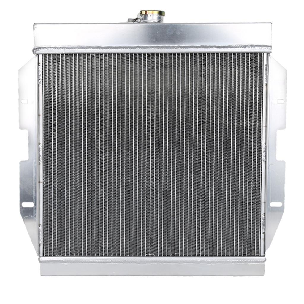 1955-1957 Ford Thunderbird Aluminum 3-Row Performance Cooling Radiator