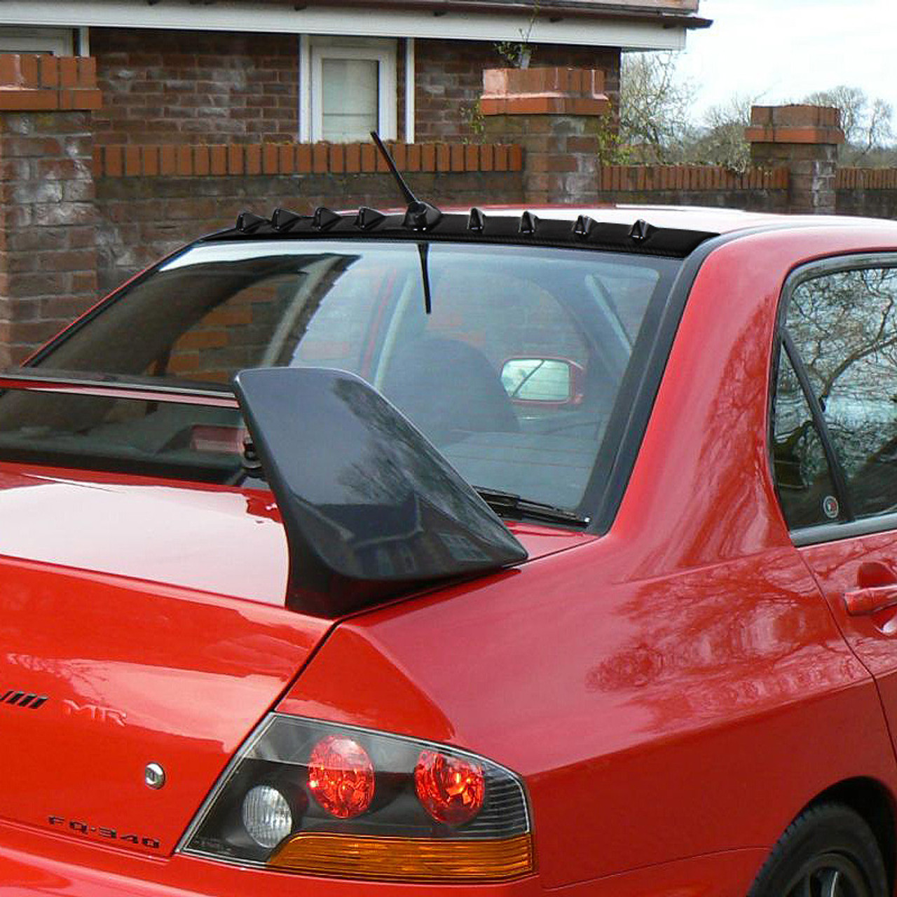 2002 2007 mitsubishi lancer evolution 8 9 shark fin roof spoiler spec d tuning 2002 2007 mitsubishi lancer evolution 8