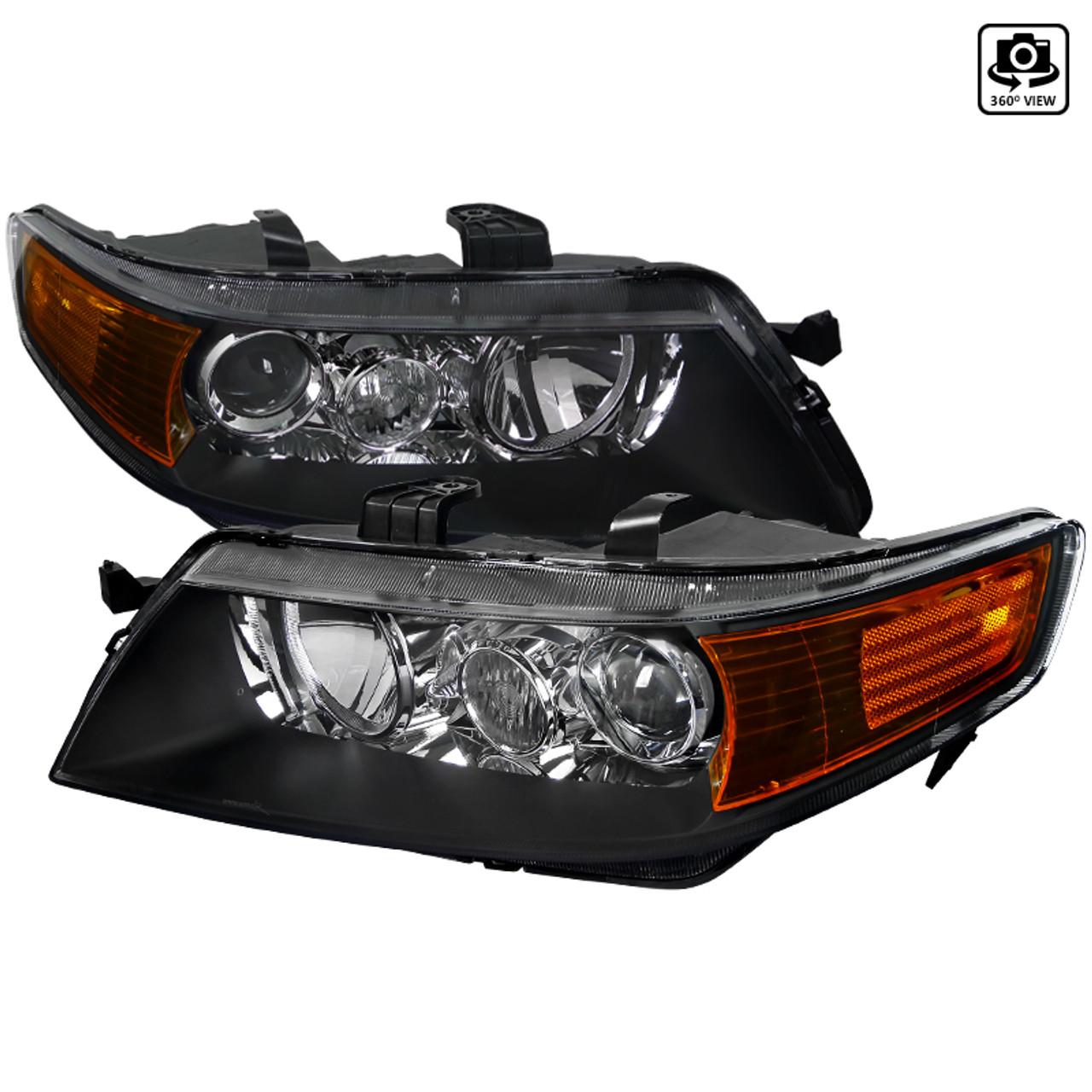 2004 2005 Acura Tsx Projector Headlights Spec D Tuning