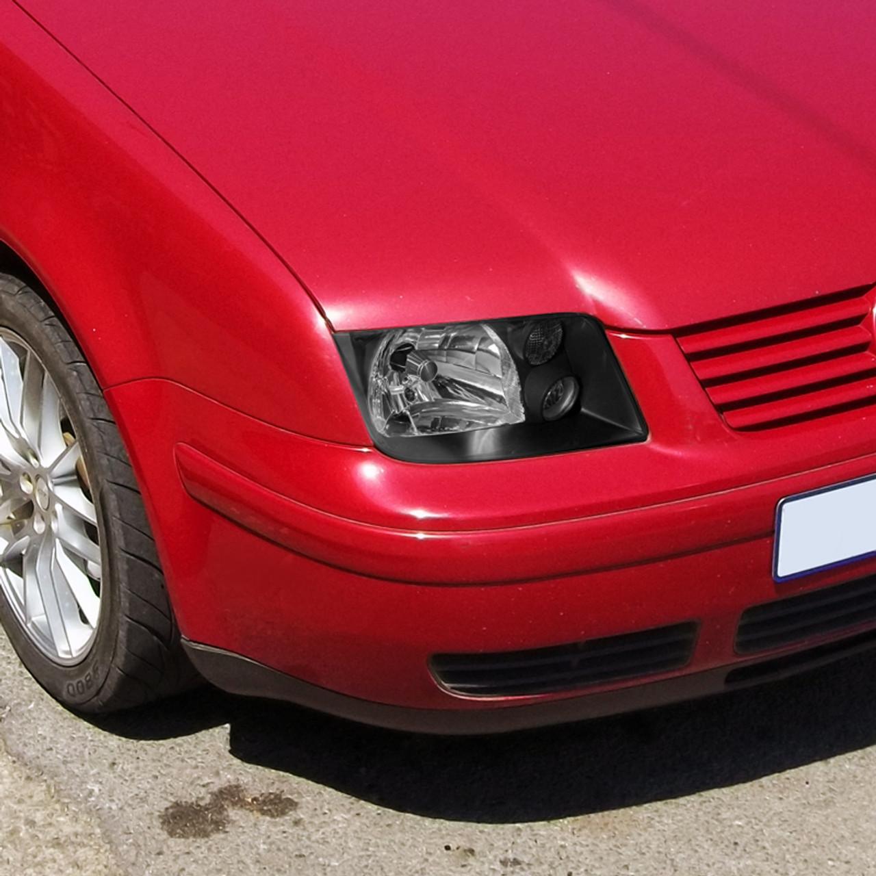 1999 2005 Volkswagen Jetta Mk4 Factory Style Headlight Matte Black Housing Clear Lens Spec D Tuning