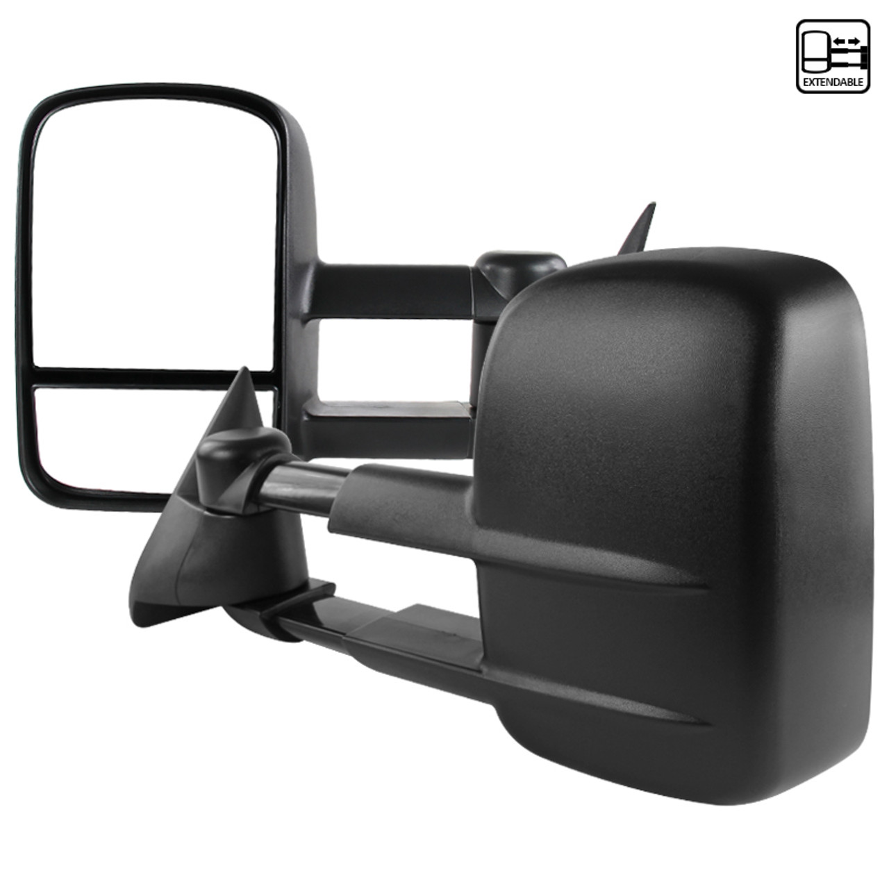 cciyu Left Right Car Mirrors Manual Adjusted Manual Telescoping ...