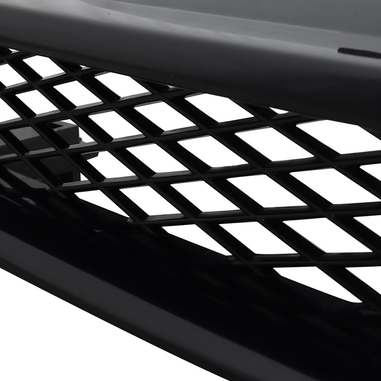 Spec-D Tuning HG-ACD90TR Honda Accord Ex Dx Black Type R Style Front Hood Grille