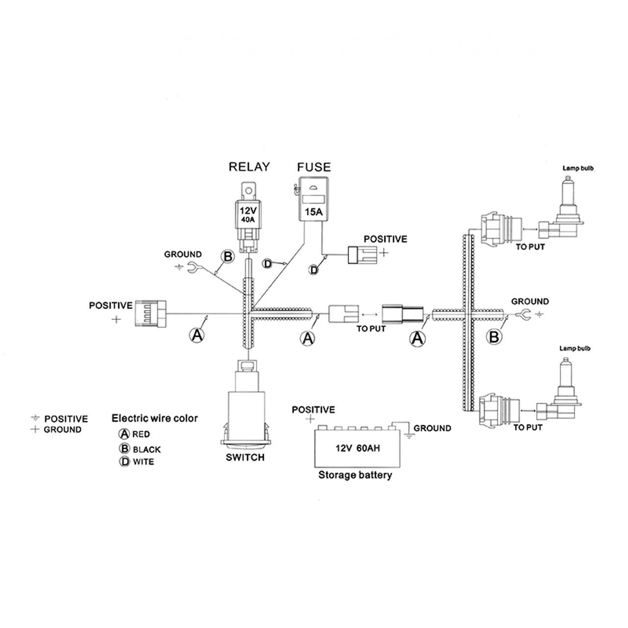 [DIAGRAM_3NM]  2014-2015 Chevrolet Camaro OEM Style Projector Fog Lights - Spec-D Tuning   2015 Silverado Fog Light Wiring Harness      Spec-D Tuning