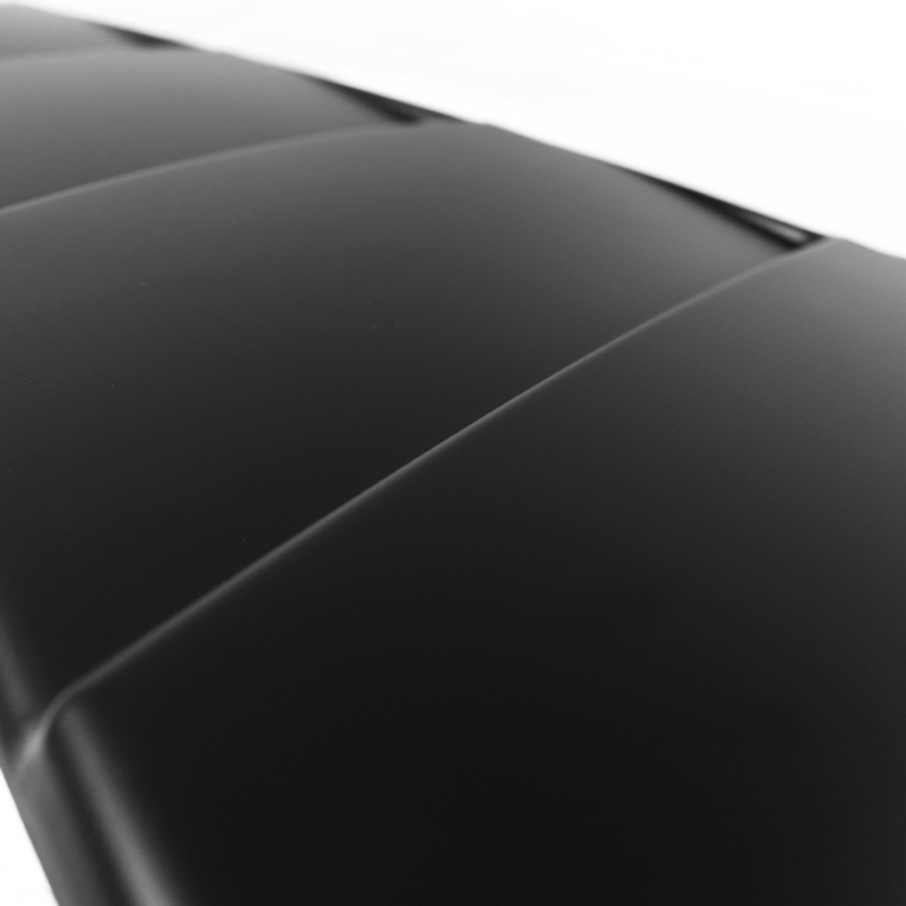 Spec-D Tuning ABS Glossy Black Quarter 1//4 Side Window Louver Cover for 2015-2018 Ford Mustang