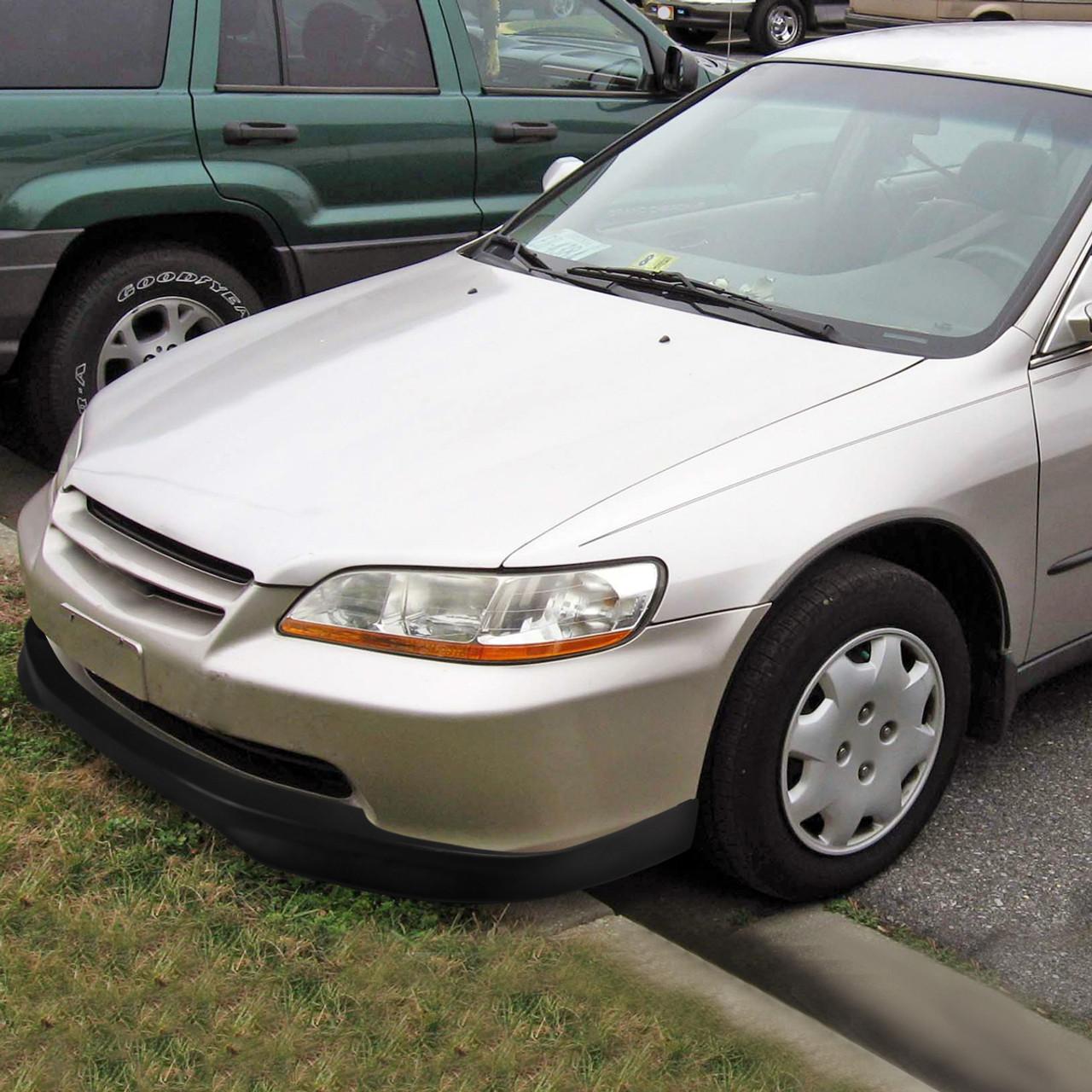 1998 2001 Honda Accord Dx Ex Lx Sedan Abs Tr Style 1pc Bumper Lip Spec D Tuning