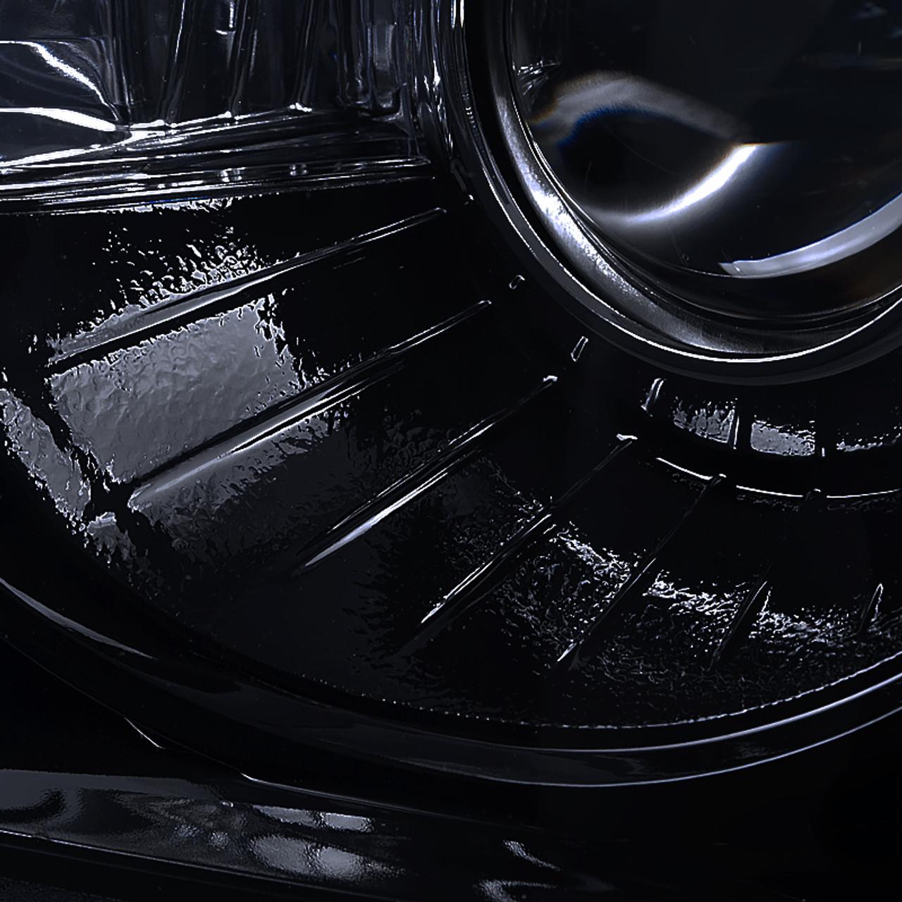 Driver side WITH install kit 2010 Chrysler 300-LH-RHD Post mount spotlight LED -Black 6 inch